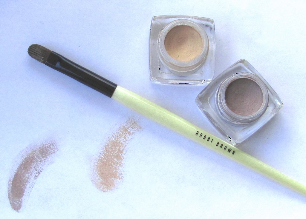 Bobbi Brown Long-Wear Cream Shadows and Brush