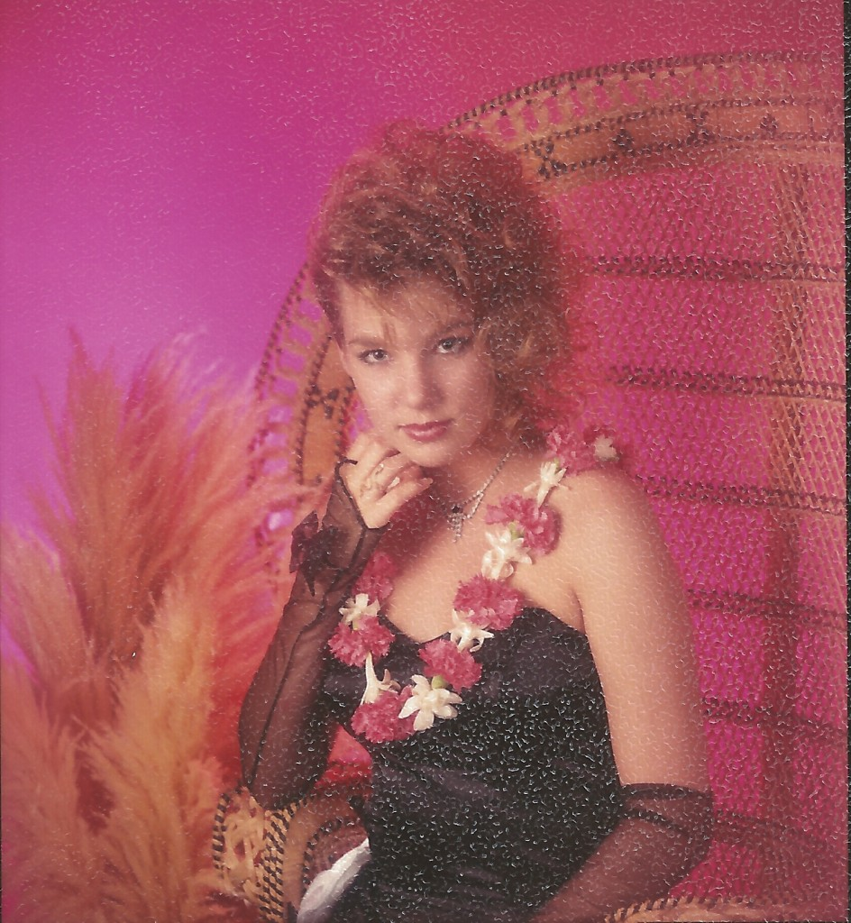 Wendy at Prom 1987