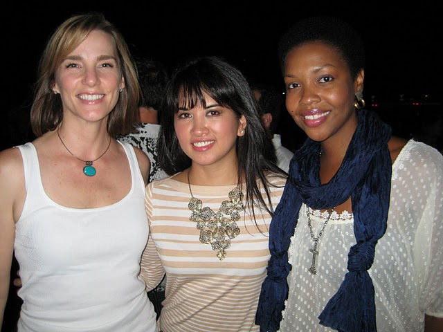 Beautypendence Founders with My-Cherie at Tribeza Rock + Runway