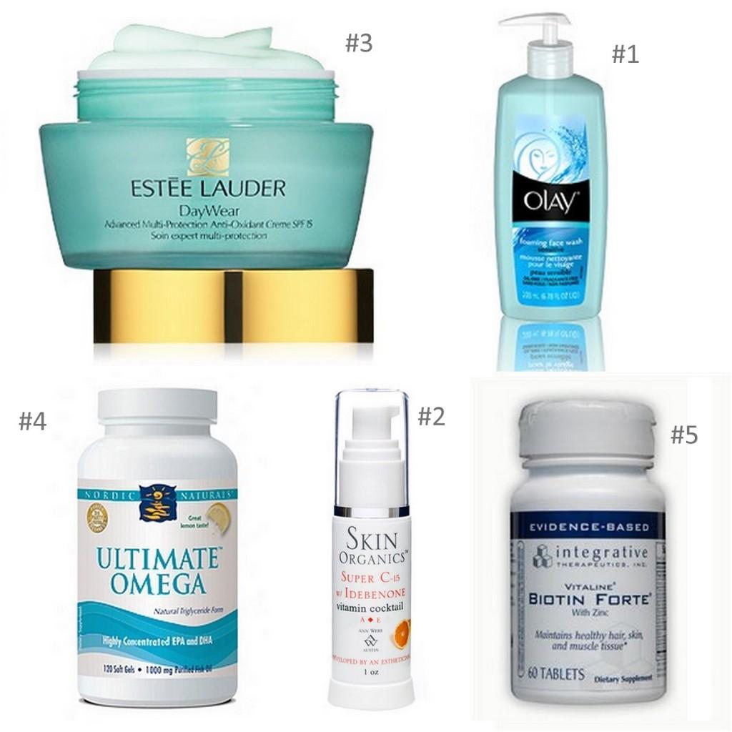 Wendy's Daytime Skin Care Regime