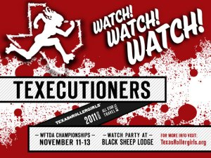 Texecutioners Watch Party flyer