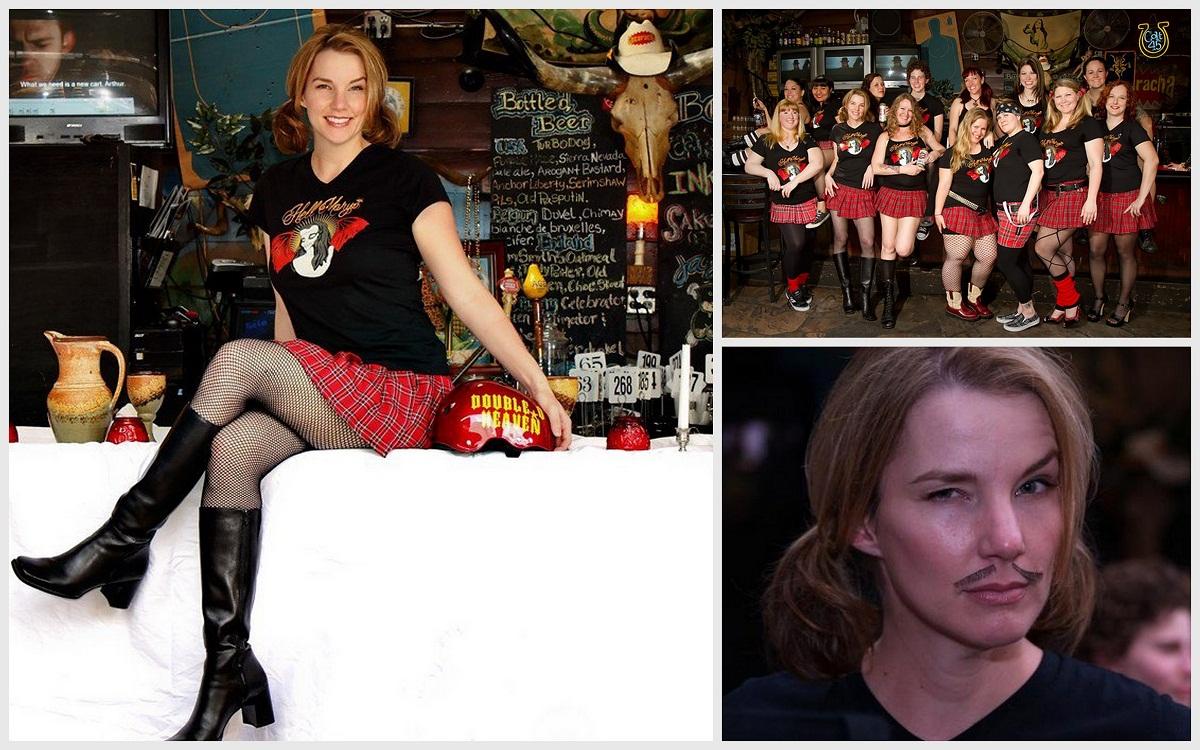 The author and Hell Marys 2009-2010 Season. Photos © Bill Smotrilla.