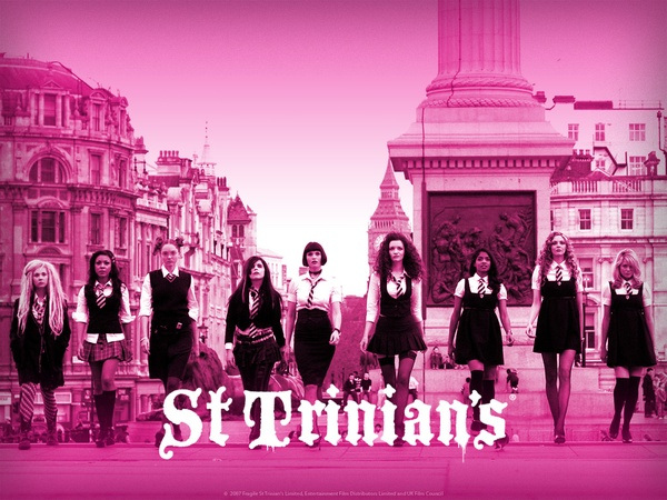 St. Trinian's school girl movie poster