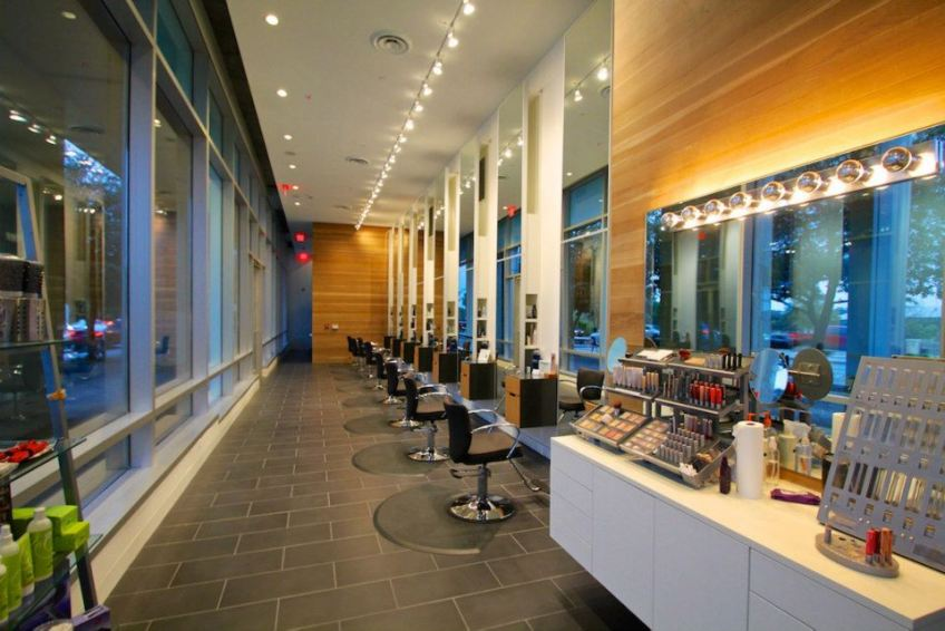 View of SALON by milk + honey, Austin, hair colorist, best salon