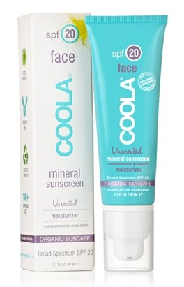 Coola Face SPF20 Mineral Sunscreen