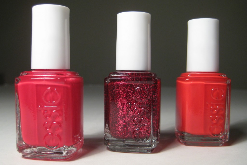 essie Winter 2012 collection - red shades of nail polish