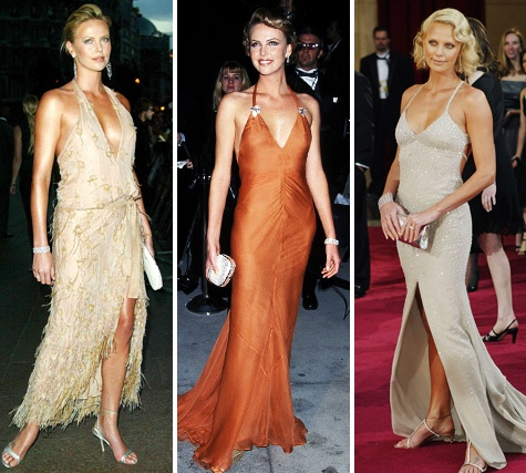 Charlize Theron best red carpet looks