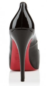 Christian Louboutin Very Prive black patent heels