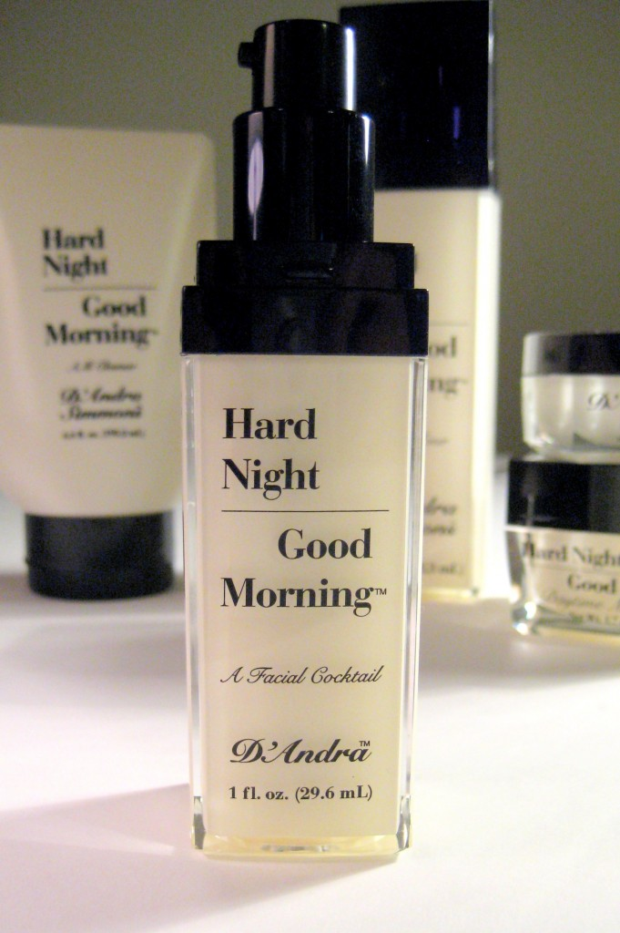 Hard Night Good Morning Facial Cocktail Serum with cap off