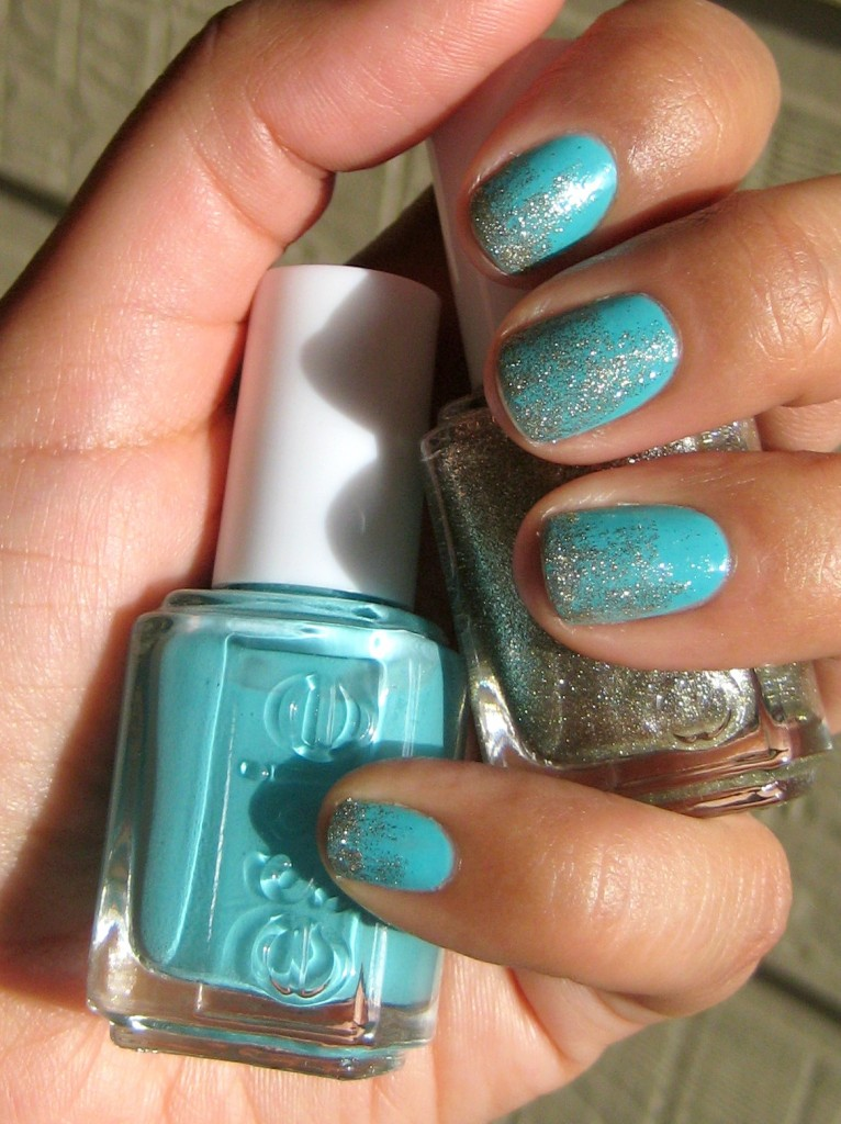 Jenn wearing essie nail polish in Where's My Chauffeur and Beyond Cozy