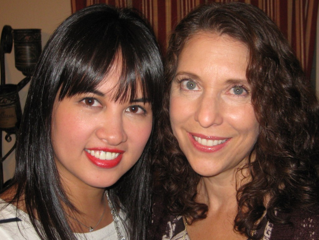 Jenn and Lynnette, post makeover