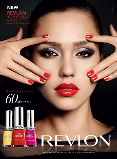 Jessica Alba Revlon ad