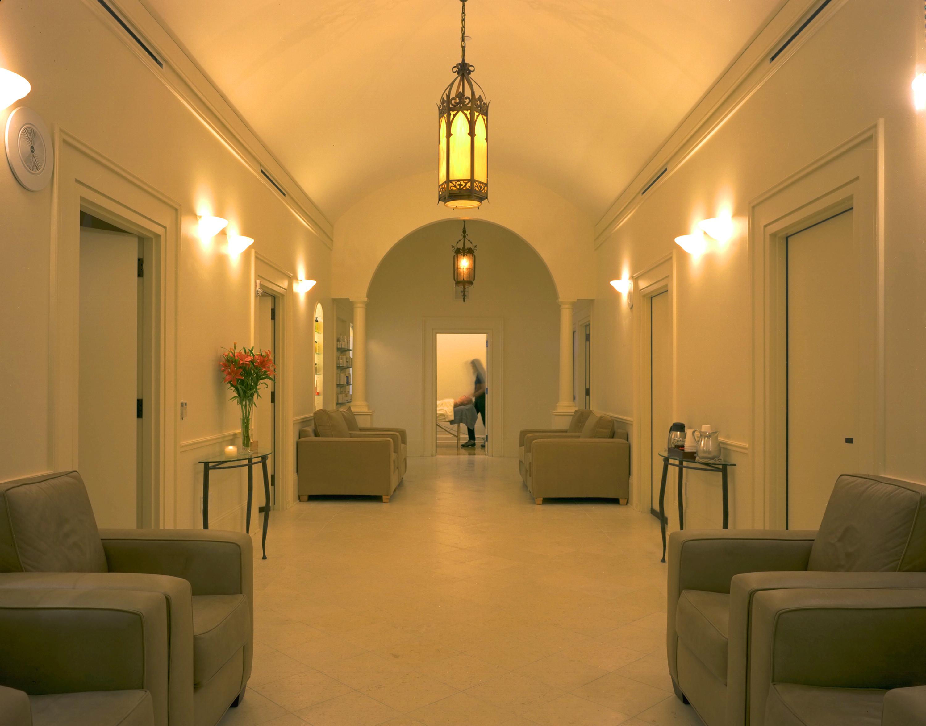 Mecca Spa - front spa waiting room