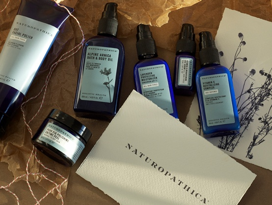 Naturopathica products, used at Woodhouse Day Spa