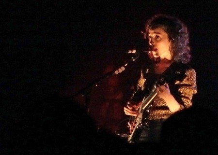 St. Vincent performing at ACL Live, October 24, 2011, photo by Shelley Hiam