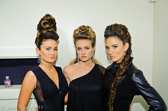 TRIBEZA Shear Style Hair Show, models from Jose Luis Salon