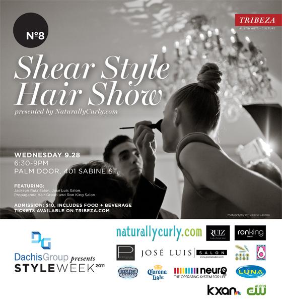 TRIBEZA Style Week Shear Style Hair Show flyer