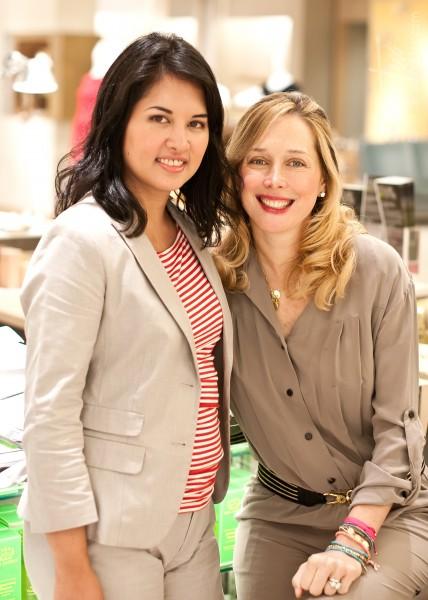 Jenn with natural, organic skincare guru Tata Harper