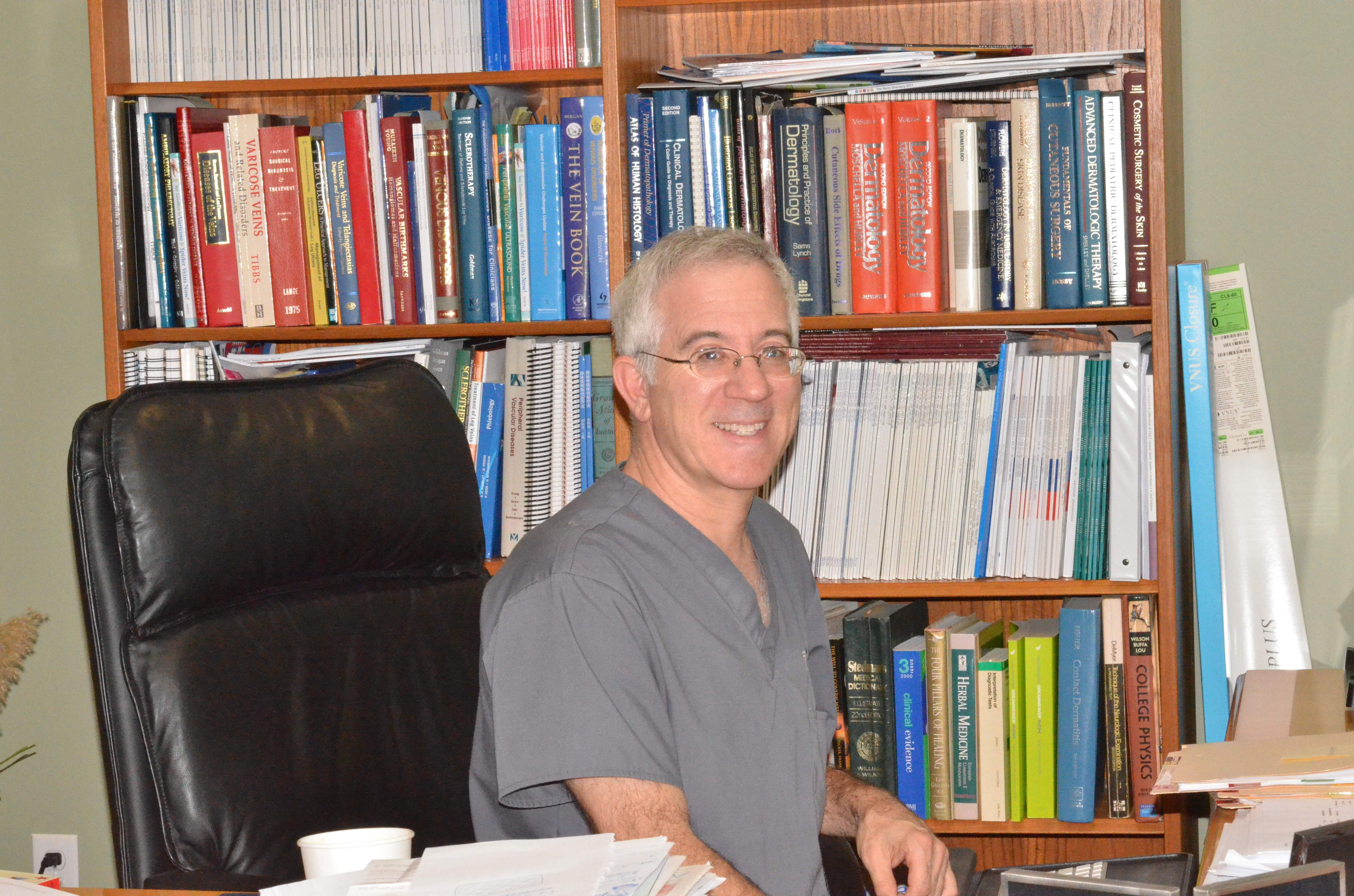 dermatologist Steven E. Zimmet, M.D.