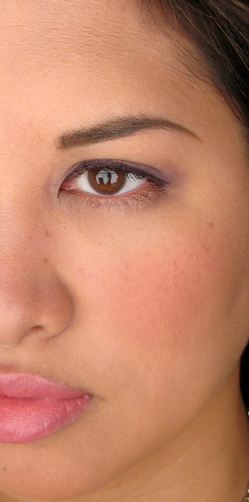 Jenn wearing Maybelline Dream Liquid Mousse in Pure Beige