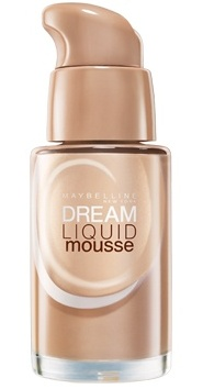 bottle of Maybelline Dream Liquid Mousse Foundation
