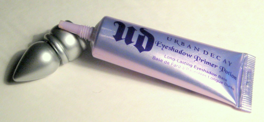 Urban Decay Eyeshadow Primer Potion tube in original with cap off