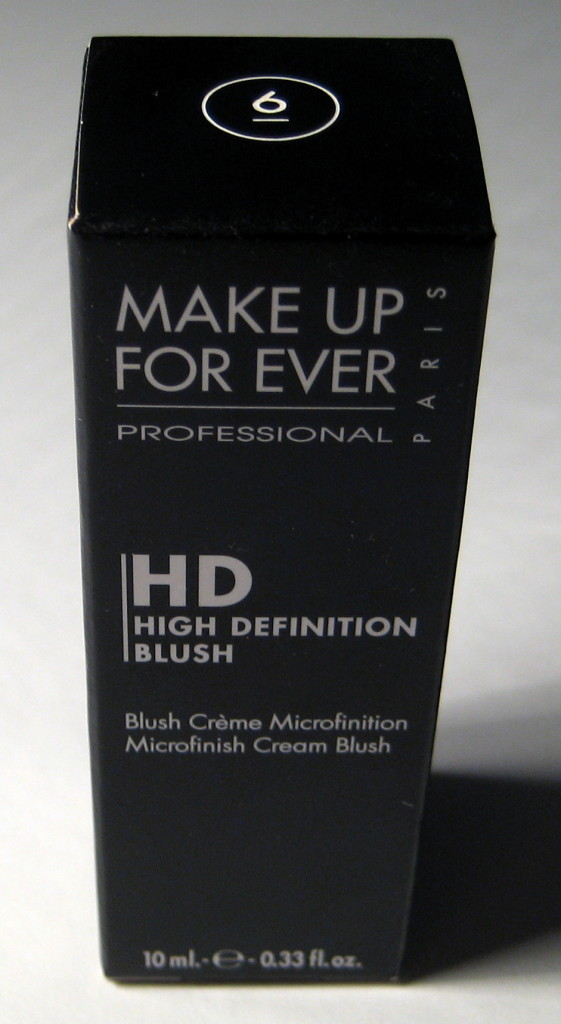 Make Up For Ever HD Blush in box