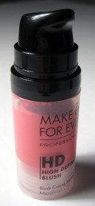 Make Up For Ever HD Blush 6 open tube