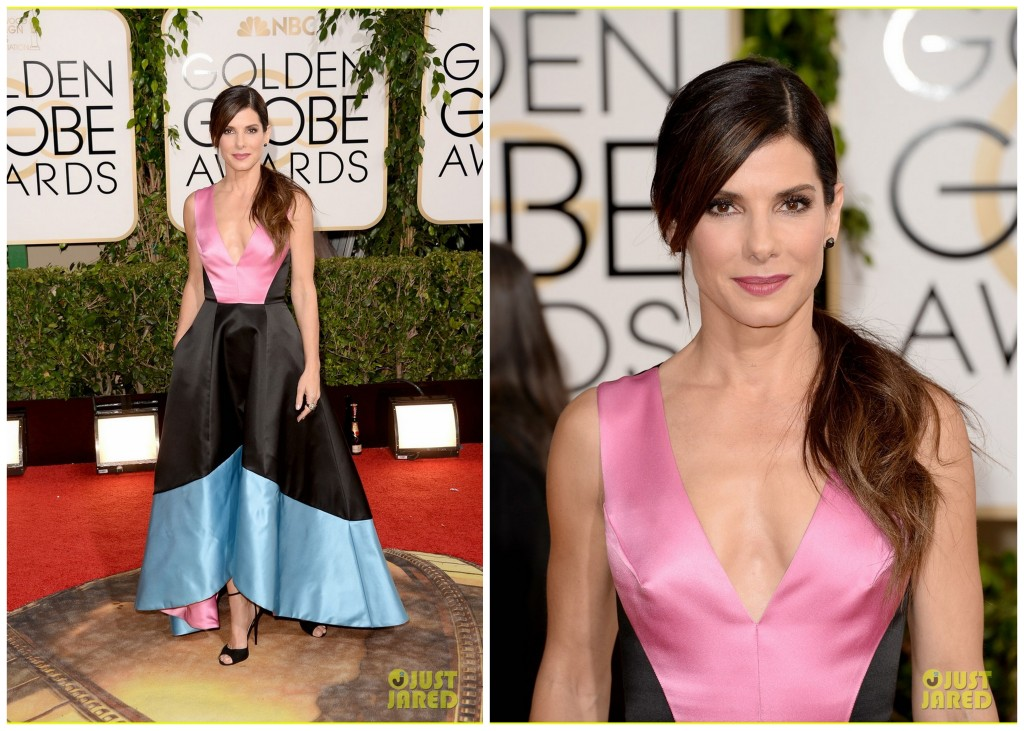Sandra Bullock at the 2014 Golden Globes