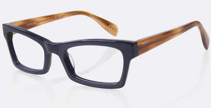 Starling Amy reading glasses in navy and tortoise