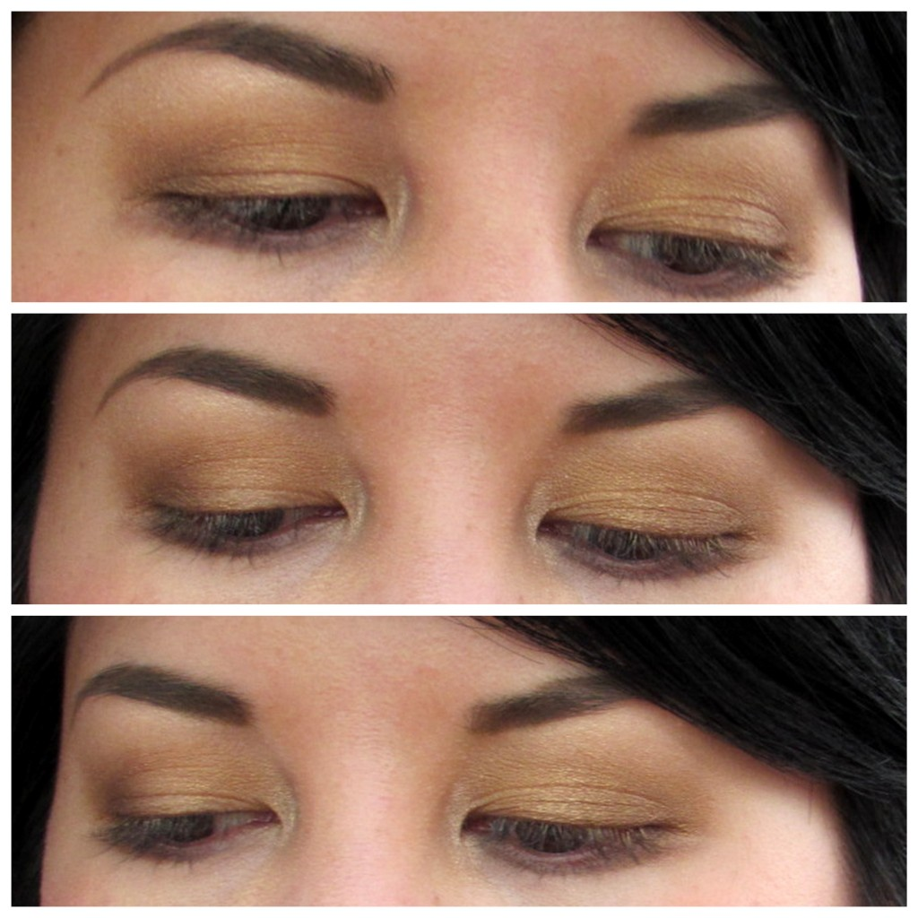 Jenn wearing Smashbox eyeshadow