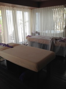 Indulgence room at Spa Delmar at Movenpick Hotel Mactan Island in Cebu Philippines