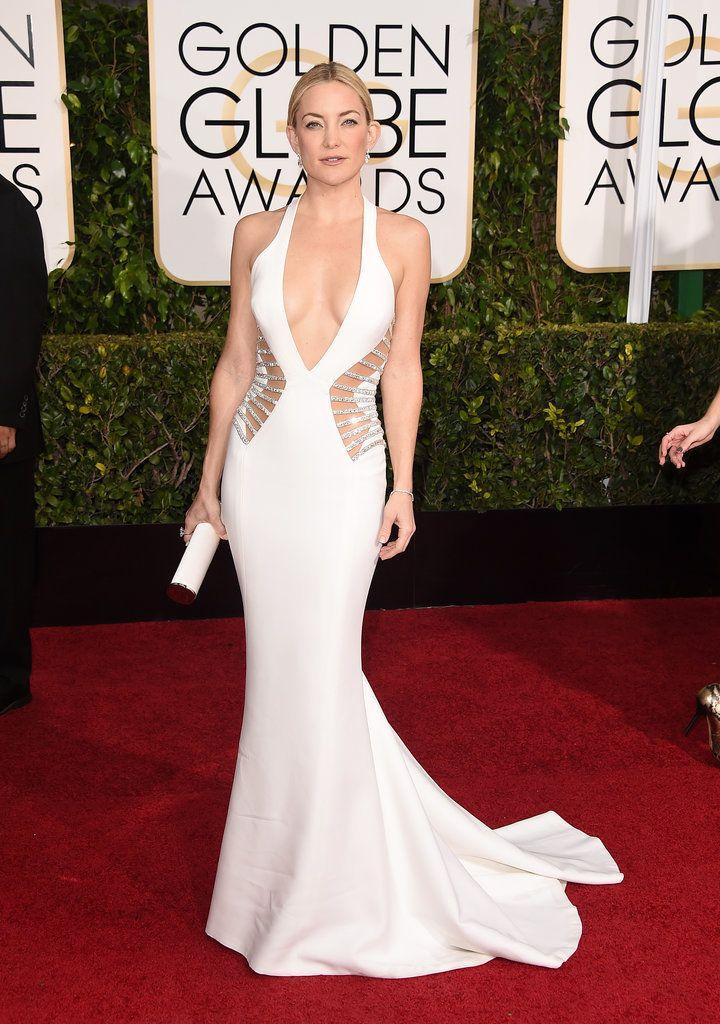 2015 Golden Globes, Kate Hudson in Versace