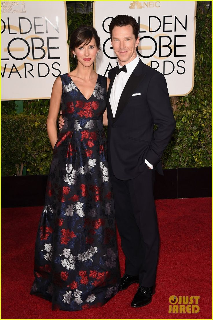 2015 Golden Globes, Sophie Hunter and Benedict Cumberbatch
