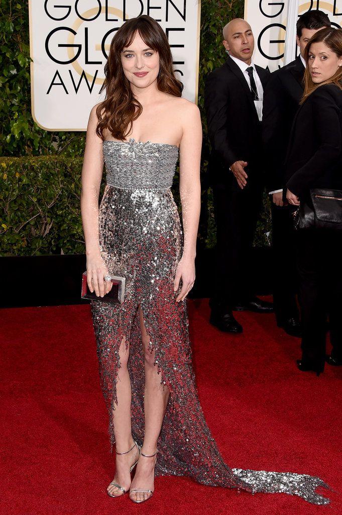 2015 Golden Globes, Dakota Johnson in Chanel Couture