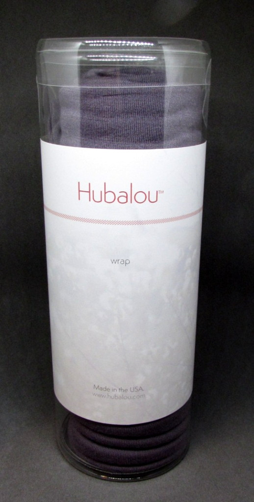 Hubalou hair wrap in slate, in tube