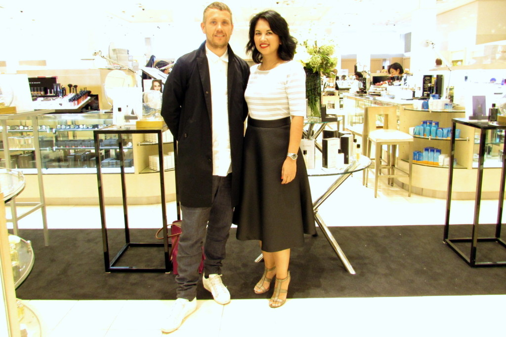 Jenn with Agonist Parfums founder Niclas Lydeen