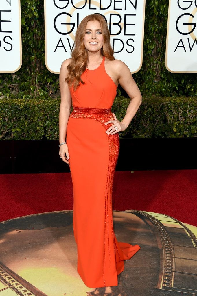 Amy Adams in Atelier Versace, Golden Globes 2016