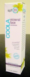 Coola SPF 20 Mineral Face Sunscreen