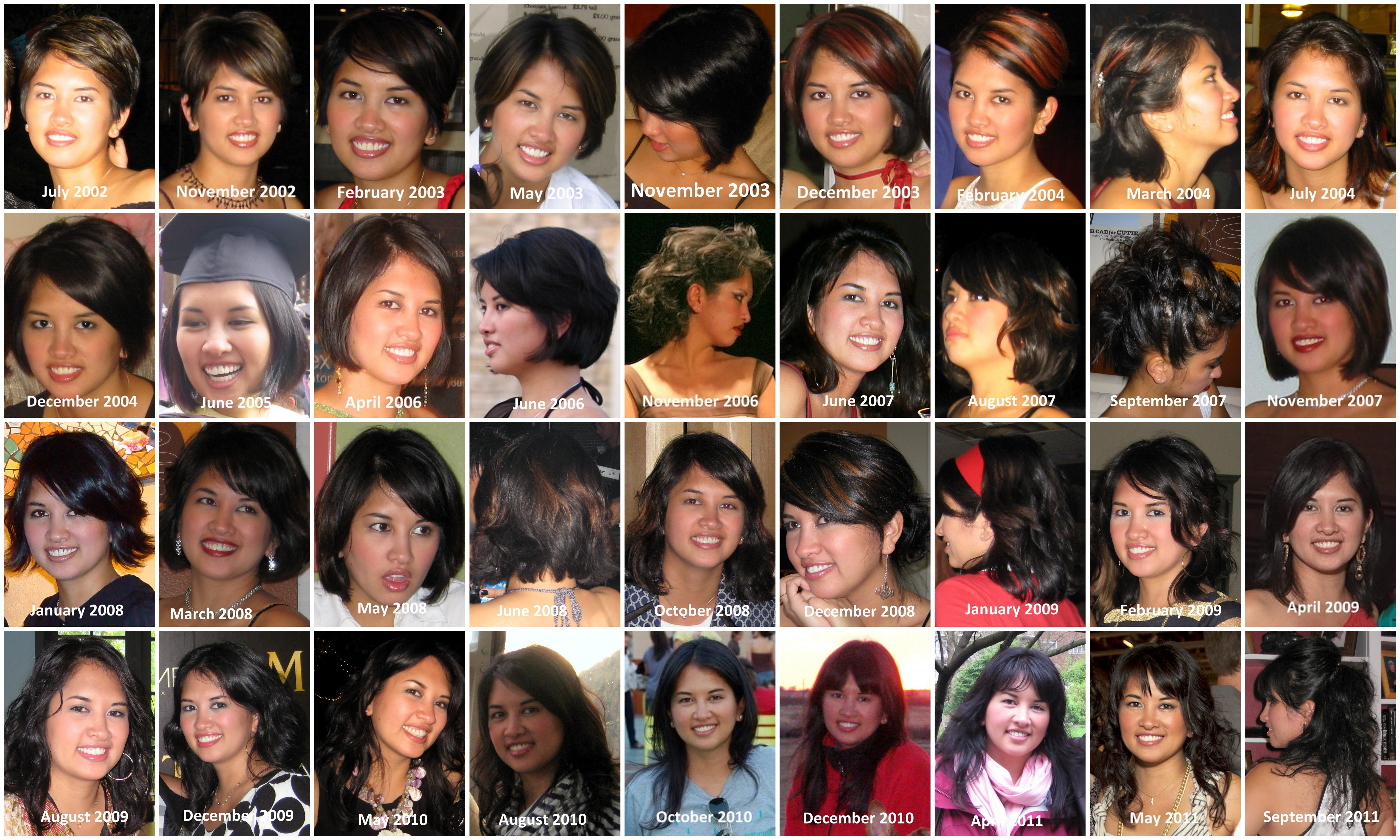 collage hair style black hairstyle collage meant for each other my 6787